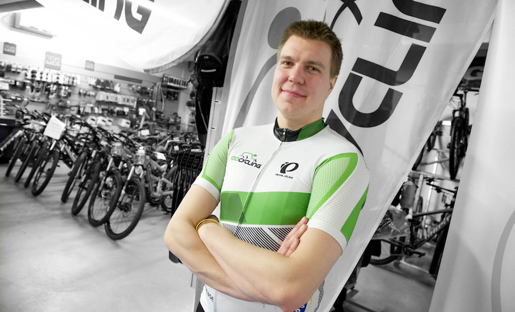 Teemu Ramstedt & IBD cycling